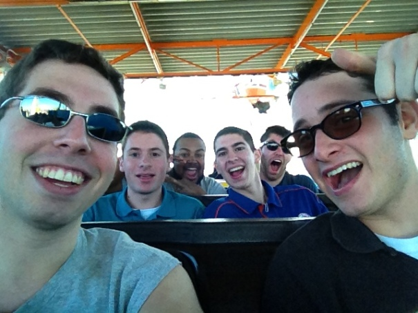 On The West Coaster at the Santa Monica Pier!
